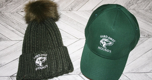 Hard Away Hounds Pom Pom Hat