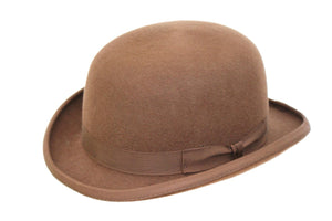 Bowler Hat - Brown