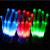 Glowing LED Rave Gloves