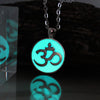 Glow In The Dark OM Necklace