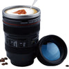 The Shutterbug's Camera Lens Travel Mug