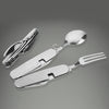 The Handiest 4 in 1 Travel Cutlery Set