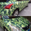 Multi-Purpose Camouflage Vinyl Wrap