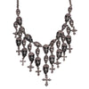 Crystal Skull Maxi Necklace
