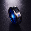 Interlocked Carbon Fiber Tungsten Carbide Rings