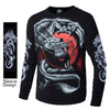 Lux Yin & Yang Dragon Glow In The Dark Long Sleeve Shirt