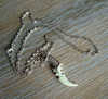 Glow In The Dark Tribal Dagger Necklace