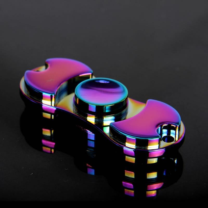 610da35d1eb Fanduco Fidget Toys Chromatic Rainbow Spinner