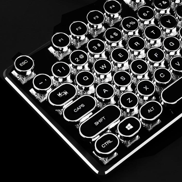 3d6b1dd58a0 Custom Typewriter Mechanical Keyboard for Gaming