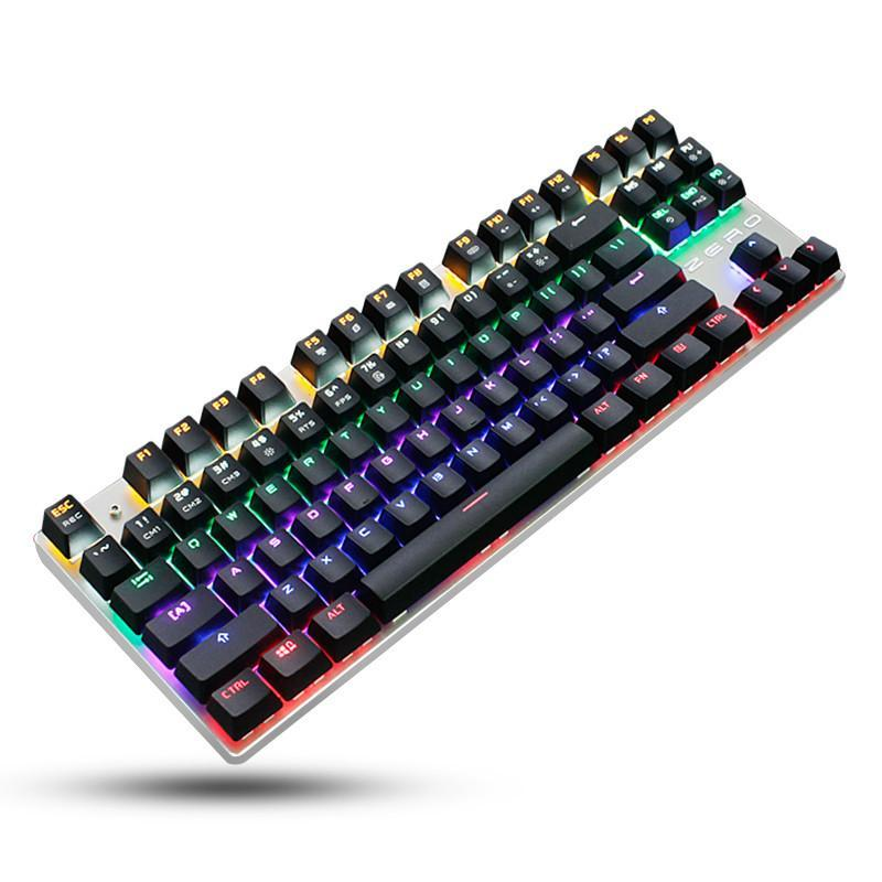 5126ceee1cd Mechanical Gaming Keyboard With Anti-Ghosting And Customizable Backlight