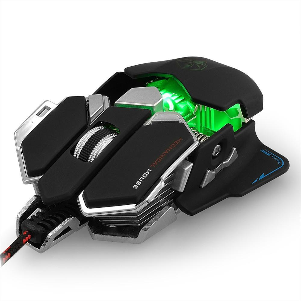 demon hunter gaming mouse with 9 programmable buttons fanduco