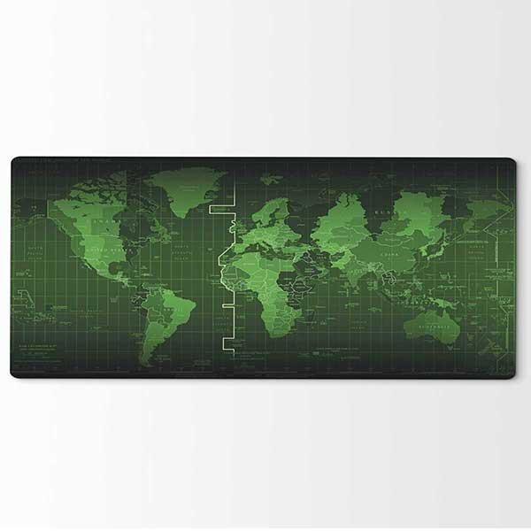 4057aa4efa8 Fanduco Mouse Pads Gigantic Atlas Mouse Mat - Radar Edition