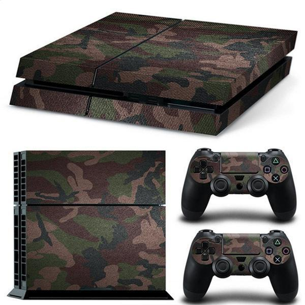 ee3c2976ee0 Fanduco Skins Classic Camo Skin Decals For Playstation 4 With 2 Controller  Skins