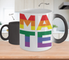 Gearbubble Mugs Color Changing Mug / White (Soul) Mate Pride Mug