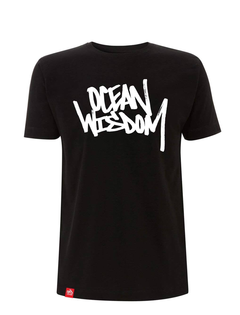 Ocean Wisdom - Official Logo Tee (Black)