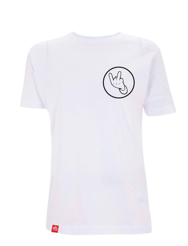 Ocean Wisdom - Official On Stage Performance Tee (White)