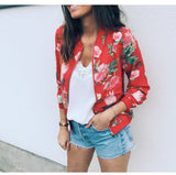 Casual Floral Jacket in 5 Colors