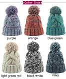 Stocking Cap with Pom in 6 Colors