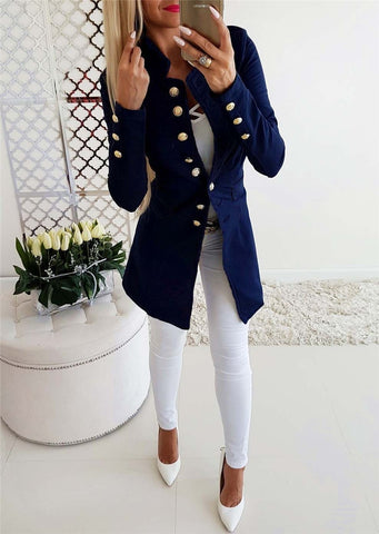 Buttons and Buttons Jacket in 4 Colors