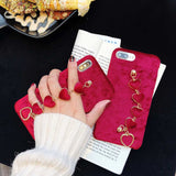 Give Me Your Heart Bracelet iPhone Soft Case in 3 Different Designs