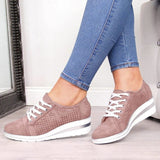 Vented Wedge Sneakers in 5 Colors