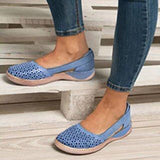 Open Side Summer Flats in 7 Colors