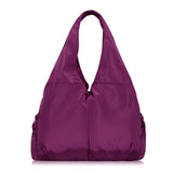 Nylon Comfort Hobo Bag