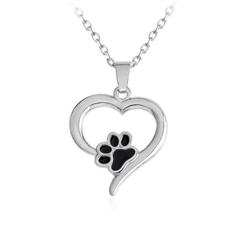 I Heart Paws Necklace