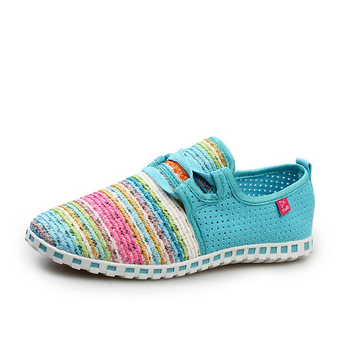 Casual Canvas Woven Comfort Shoes