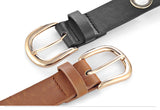Going in Circles  Leather belt in 6 Colors