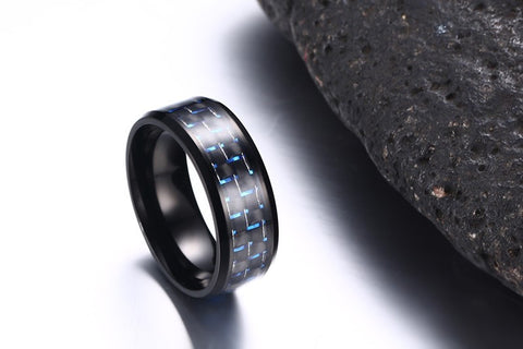 Urban Abstract Men's Ring