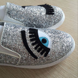 Flirty Eyes Slip-ons