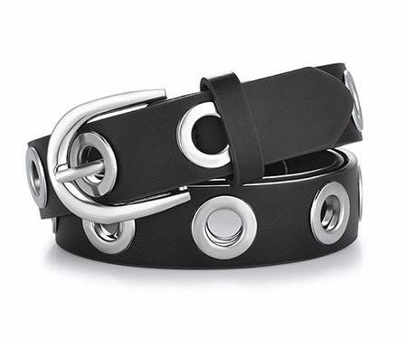 Going in Circles  Leather belt