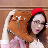 M Buckle Ankle Boots in 4 Colors