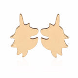 Unicorns Pierced Earrings