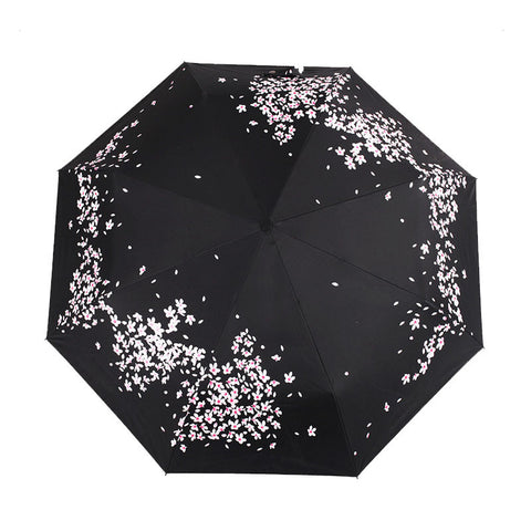 Scattered Flowers Umbrella Available in 2 Colors