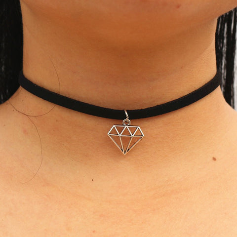 Shine Bright Like a Diamond Choker