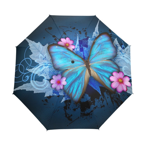 Spring Butterfly Umbrella