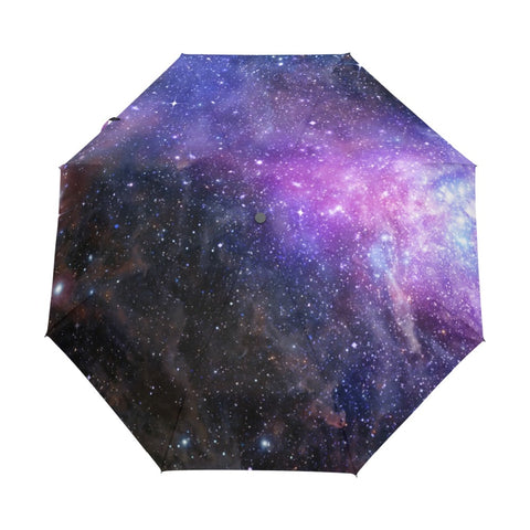 Galaxy of Stars Wind Resistant Umbrella