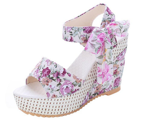 Spring is the Thing Platform Sandals in 3 Colors