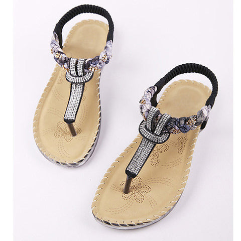 Braided Glitz Women's Sandals