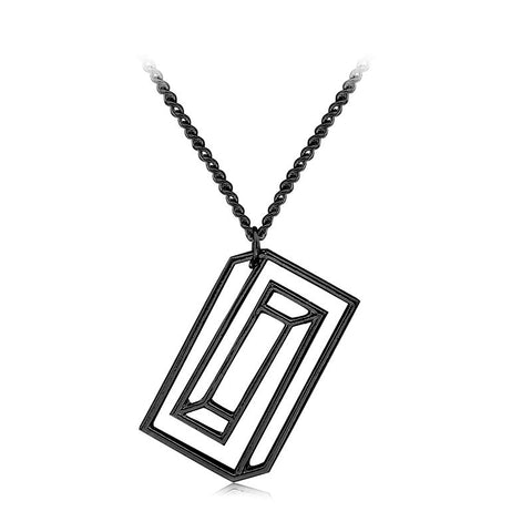 Escher Pendant Necklace Available in 3 Colors