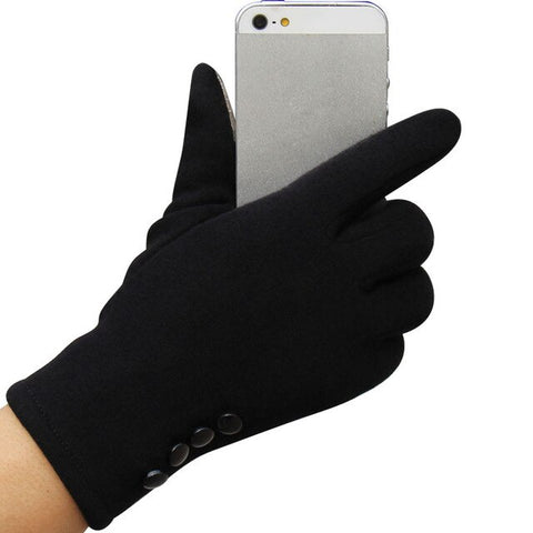 4 Button Fashion Gloves in 5 Colors