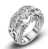 Sterling Silver Valentine Promise Ring Available in 6 Colors