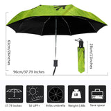 Green Frog Rain Forest Umbrella - 3 Different Designs Available