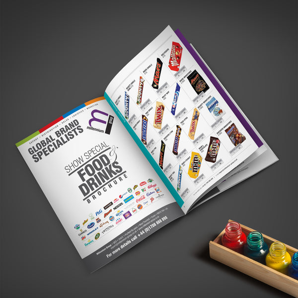 A4 booklets 120gsm Uncoated Self Cover