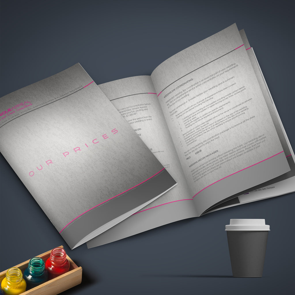 a5 20pp 150gsm Silk Inner 250gsm Gloss Laminated Cover