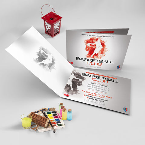 A5 4pp Flyers 250gsm (Folded)