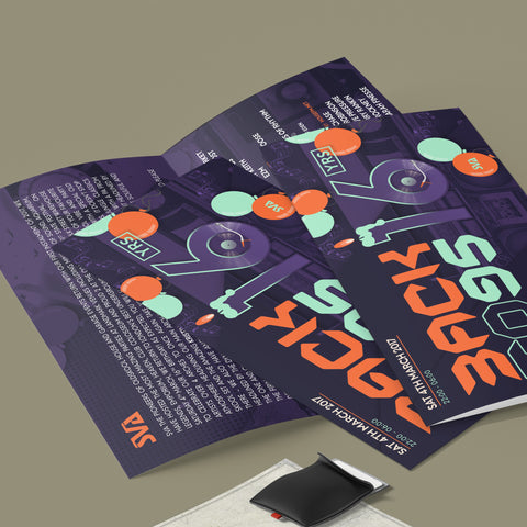 DL 4pp Flyers 250gsm (Folded)