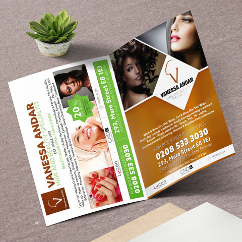 A4 4pp Flyers 250gsm (Folded)